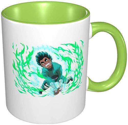 Bernice Winifred Anime 3d Muster Rock Lee Keramik Kaffeetassen-Grün