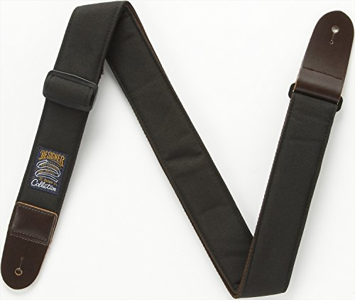 IBANEZ Design Guitar Strap - Black (DCS50-BK)