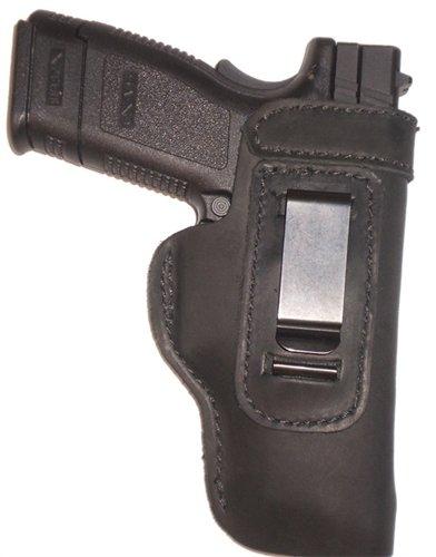 Pro Carry FN FNP FNX FNS 9 40 Leather Gun Holster LT RH IWB Black