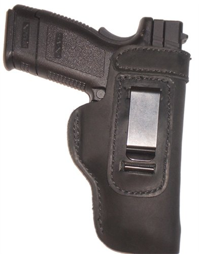 Pro Carry FN FNP FNX FNS 9 40 Leather Gun Holster LT RH IWB Black