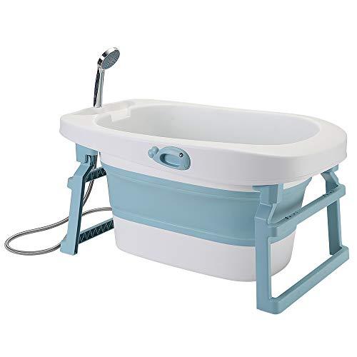 seggiolino vasca da bagno bambino YIZHE 3 in 1 Vaschetta Bagnetto