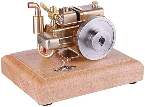 Autoks Mini Motor de Gasolina de 4 Tiempos refrigerado por Agua de 2,6 CC con Base de Madera