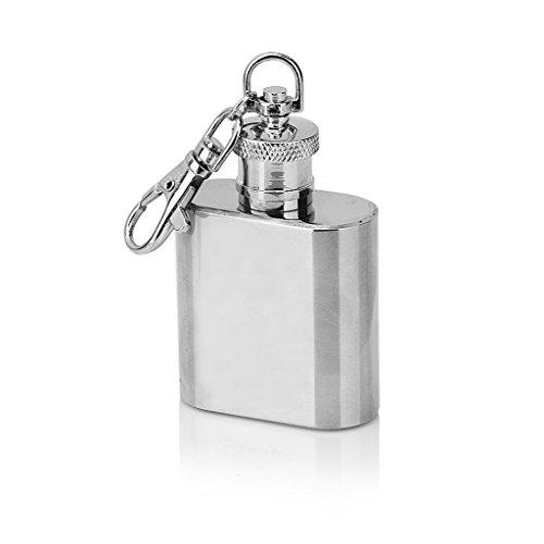 PLL Individuelle tragbare Portable Pot Edelstahl Edelstahl Flagon Schlüsselbund