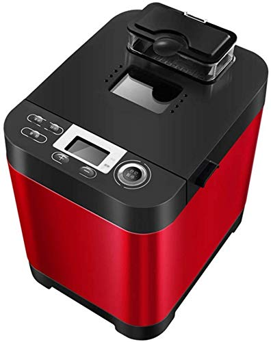Sale!! Automatic Bread Machine, Intelligent Fast Breadmaker, Fully Automatic Touch 450W, LCD Screen, 6 Side Burnt Colors, 18 Menus, Appointment Time