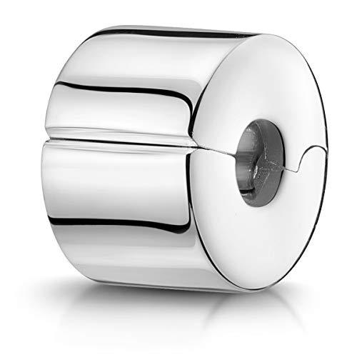 Schmuck Glasperle Charmant Perle Clip Stopper für Europäisches Armband
