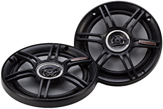 "$22 » Crunch CS65CXS Full Range 3-Way Shallow Mount Car Speaker, 6.5"" , Black"