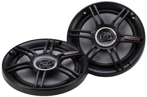 Crunch CS65CXS Full Range 3-Way Shallow Mount Car Speaker, 6.5' , Black