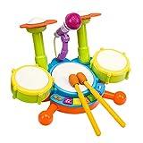 AIBAB Los Tambores de 3-6 años los niños y los Tambores Bata la Instrumento,...