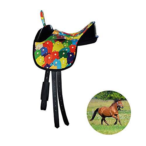 GCSEY Pony Exclusivo De Una Silla Infantil De Una Silla De Diseño Ergonómico Arnés De Absorción De Una Silla Ultra-Light Silla Comfort Choque Velocidad De Una Silla