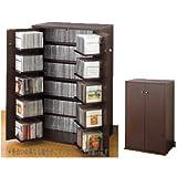 CDラック 収納名人 CD約454枚収納 日�