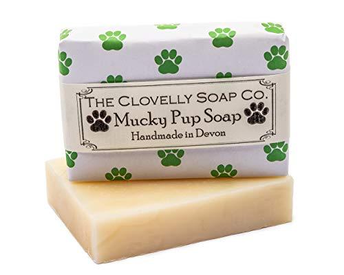 Clovelly Soap Co. Handgemachte Schmutzfink Shampoo Naturseife für Hunde alle Rassen & Hauttypen 100g