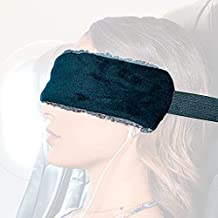 The SeatSleeper – Travel Pillow Alternative that Stops Head Bobbing – Straps to Airplane Headrest so You Can Actually Sleep Great on Flights Upright – Super Comfy Head & Neck Support – Small & Compact