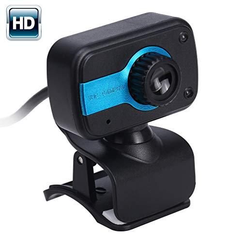 HZJ Computer Webcams, Computer Camera met Microfoon Autofocus Breedbeeld HD Video Bellen voor Youtube/Twitch/Xsplit/PC/Mac/Laptop/Macbook/Tablet