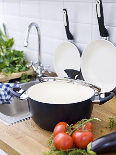 GreenPan Rio 12pc Ceramic Non-Stick Cookware Set, Black - Iowa