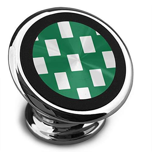 Amoyuan Magnetische Telefoonhouder Nigeria Vlag Wit Groen Auto Telefoonhouders Voor Auto Met Een Super Sterke Magneet