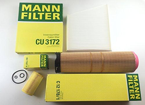 MANN-FILTER ÖLFILTER LUFTFILTER POLLENFILTER W211 S211 200 220 270 CDI E-KLASSE