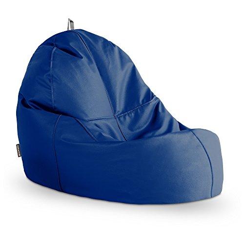 HAPPERS Puff Lounge Polipiel Outdoor Azul