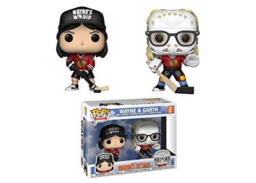Pop Movies 3.75 Inch Action Figure Wayne's World - Wayne & Garth 2-Pack