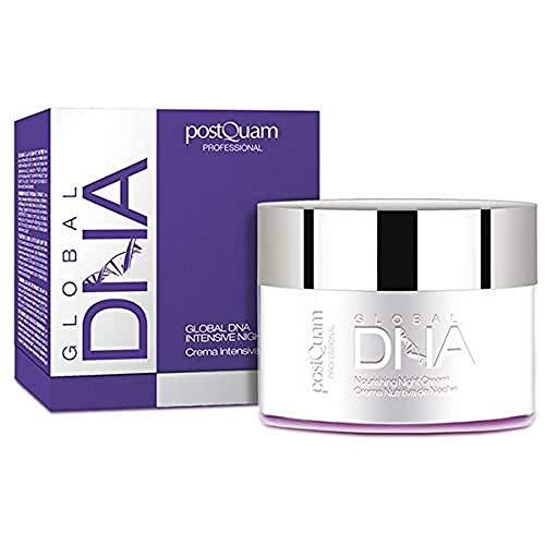 Postquam - Global DNA | Crema Hidratante Facial de Noche Reductora de Arrugas - 50 Ml