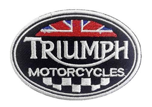 Triumph British Motorräder Biker bestickt Tuch Eisen auf Patches