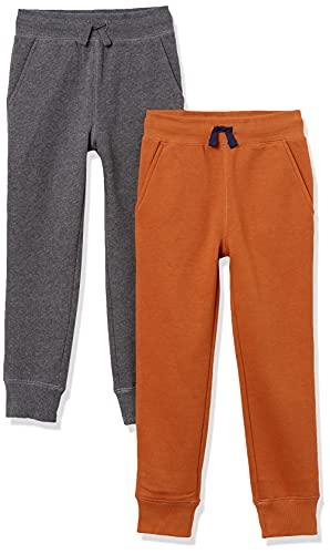 pantaloni tuta 4 anni Amazon Essentials Boys' Fleece Jogger Sweatpants Pantaloni della Tuta