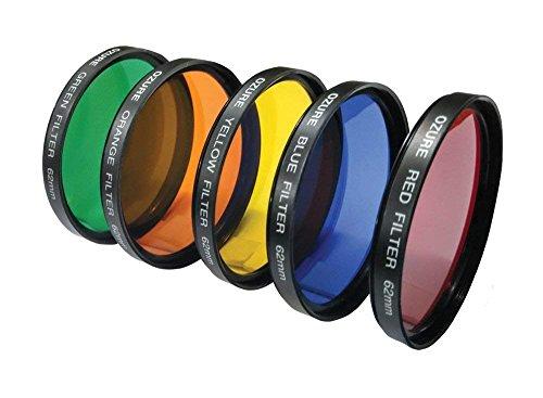 Ozure Color Filter Kit (Set of Five) (62mm)
