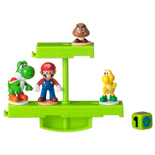 EPOCH GAMES Super Mario Balancing Game Ground Stage, Color Verde (07358)