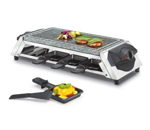 Küchenprofi Raclette Style 8er mit Steinplatte [SP]