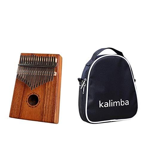 Kalimba, Daumenklavier 17 Keys Kalimba Daumenklavier Praktische Holz Acacia Daumenklavier Angemessene Lagerung und bequemen Zugang mit Tuning Hammer Musikinstrument