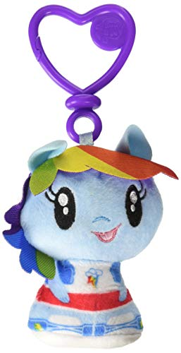 My Little Pony Cutie Mark Crew Rainbow Dash Equestria Girls Plush Clip