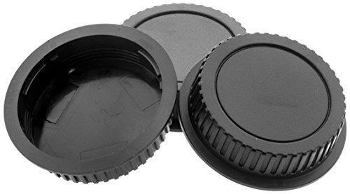 K&F Concept 3 Rückdeckel kompatibel mit Canon EOS EF Objektiven