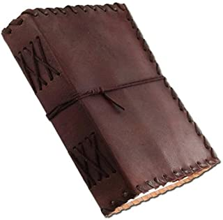 ANUENT Medieval Renaissance Handmade Leather Diary Journal Thought Book by Armory Replicas