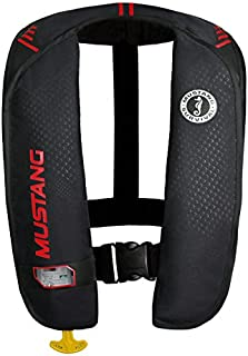 Mustang Survival Corp M.I.T. 100 Auto Activation PFD, Black/Red