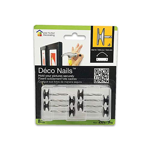 Under the Roof Decorating Deco Nail Large Head Sampler Pack