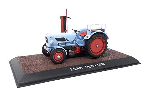 Atlas DieCast Metall Miniaturmodelle Modellauto 1:32 Historischer Traktor 1959 Eicher Tiger