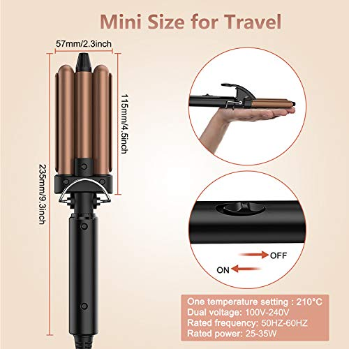 Milantia 3/4 Inch Mini Hair Waver Product Image
