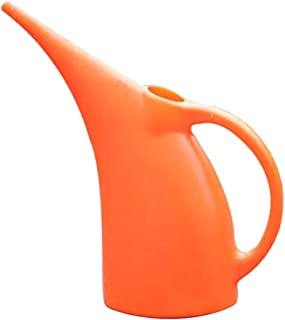 Large Capacity Long Mouth Plastic Garden Watering Can Water Sprinkler - as described, 3L Orange