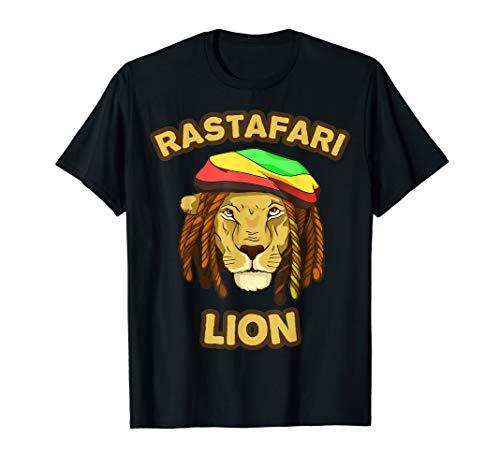Rastafari Löwe Raggae Reggea Rastas T-Shirt