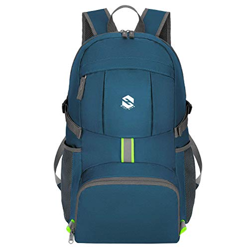 OlarHike Hiking Travel Backpack, Packable Lightweight Camping Backpack for Men Women