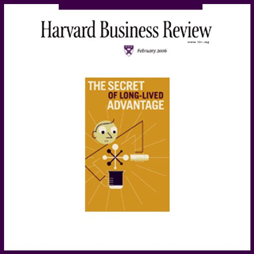 Harvard Business Review, February 2006 copertina