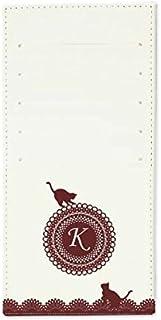 インナーカードケース 長財布用カードケース 10枚収納可能 カード入れ 収納 プレゼント ギフト 3015レースネーム ( K ) オフホワイト