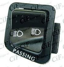 9084-CX CIF PULSANTE CLACSON SCOOTER GIALLO COMPATIBILE CON PIAGGIO APE FL2 50 1989 1995