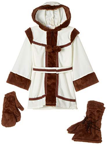 disfraz prime Disfraz Esquimal niña, Multicolor, estandar (limitsport 8421796429134)