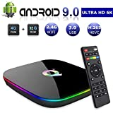 SEC Android 9.0 TV Box 4GB RAM 32 GB ROM, Q Plus Smart