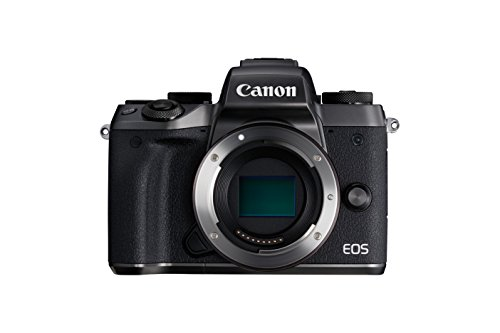 Canon EOS M5 Mirrorless Camera with EF-M 18-150 mm Lens - Black