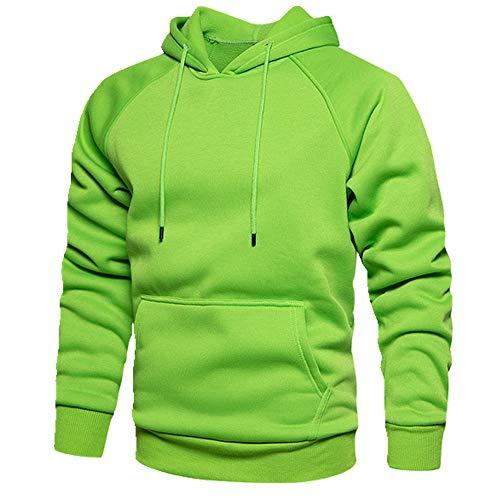 Sudadera hombre sudadera con capucha otoño/invierno suéter Verde