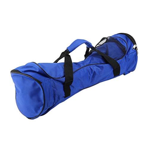 JIE 10 Pulgadas Dos Ruedas Auto Equilibrio Scooter eléctrico Hoverboard Bolso Bolso Azul