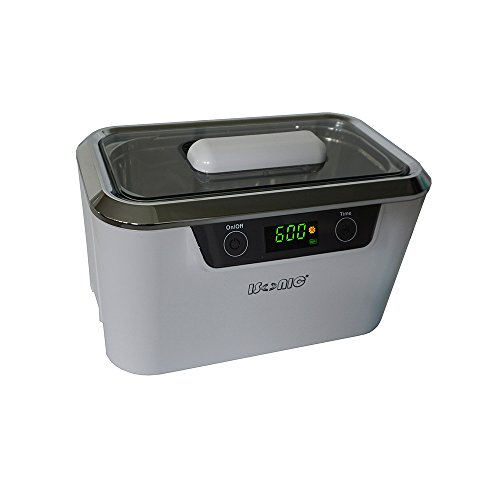 iSonic CDS300 Professional Ultrasonic Cleaner, 0.9Qt/0.8L, 110V, White (Too Small for for C-Pap, Choose P4821-CPAP, P4831-CPAP, P4862-CPAP Instead) C
