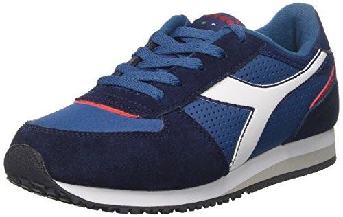 Diadora Malone S Y, Sneaker a Collo Basso Bambino, Blu (Blu Stellare), 38 EU