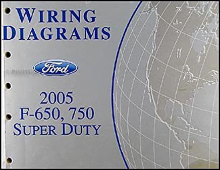 2005 ford f650 f750 medium truck wiring diagram manual Ford F650 Wiring Schematic f650 wiring diagram wiring diagram